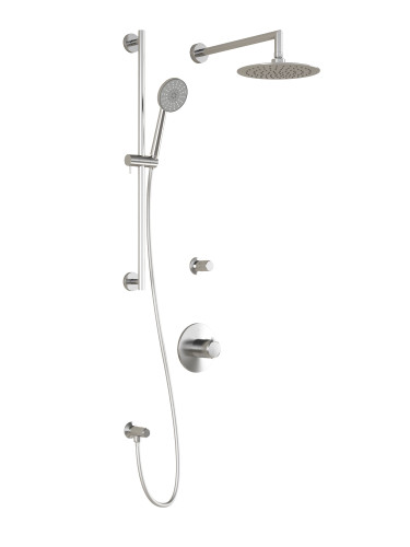 KALIA T2 Cite Thermostatic Shower System Chrome