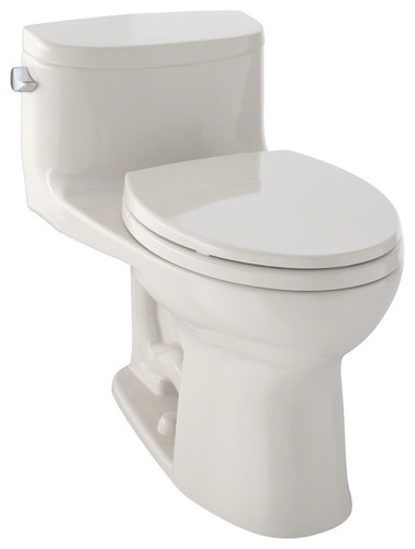 TOTO Supreme II One-Piece High-Efficiency Toilet with SanaGloss 1.28GPF Sedona Beige