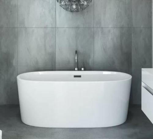 Mirolin Ilusa Slimline 5 ft Freestanding Bathtub *Display*