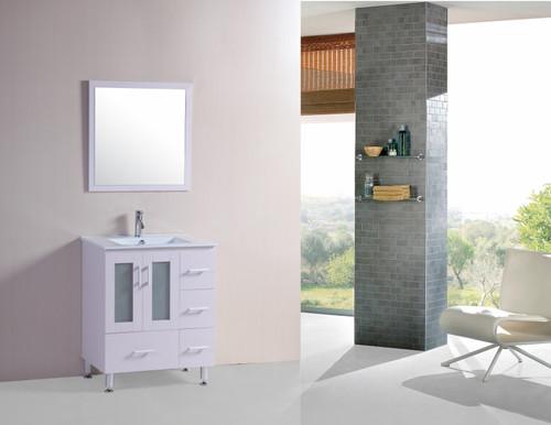 """LUX 32"""" Bathroom Vanity White"""