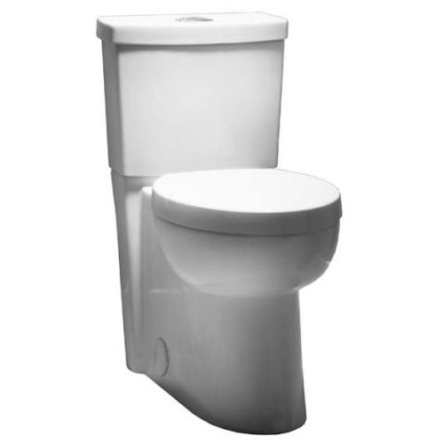 American Standard Studio Concealed Trapway Right Height Dual Flush Elongated Front toilet
