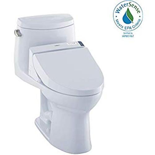 TOTO UltraMax II WASHLET®+ C200 One-Piece Toilet - 1.28 GPF