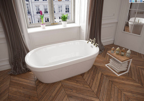 "Mirolin Demi Freestanding Tub 60"" x 32"" x 22"""