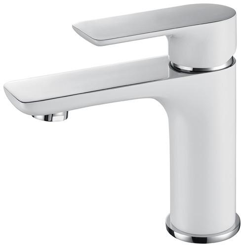 Royal Franklin Single Handle Faucet Chrome & White