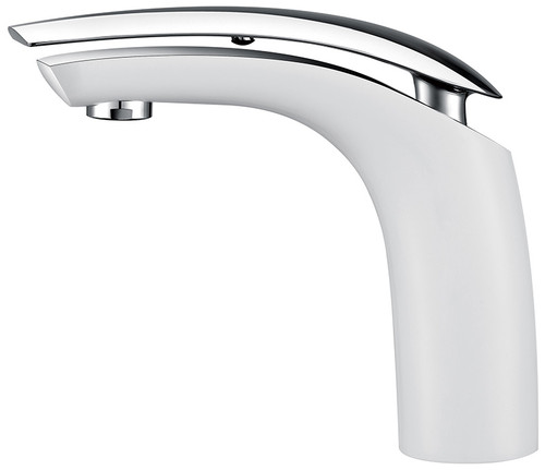 Royal Manchester Single Handle Faucet White & Chrome