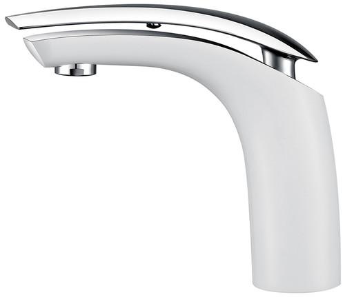 Royal Manchester Single Handle Faucet White & Chrome