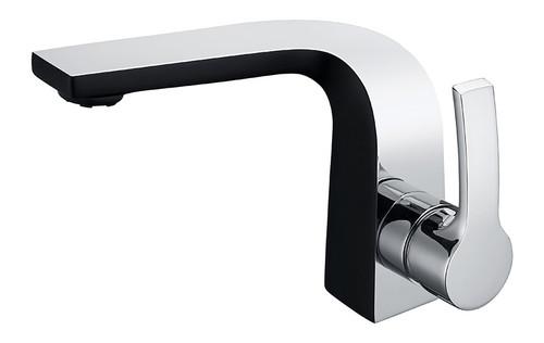 Royal Kingston Single Handle Faucet Black & Chrome