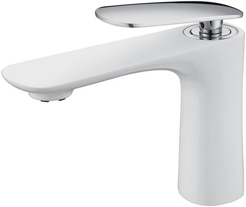 Royal Fairview Single Handle Faucet White & Chrome