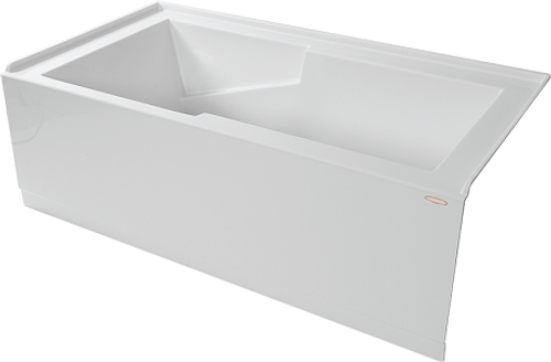 "Sherlic Quad 5 60"" X 32"" 2 Sided Skirted Bath Tub"