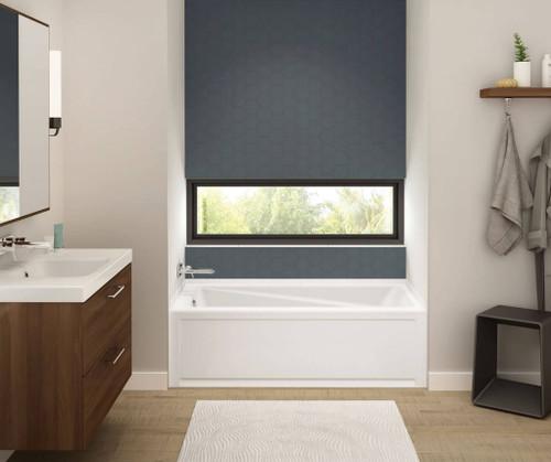 """Maax Exhibit 60"""" x 30"""" x 19"""" Rectangular Bathtub"""