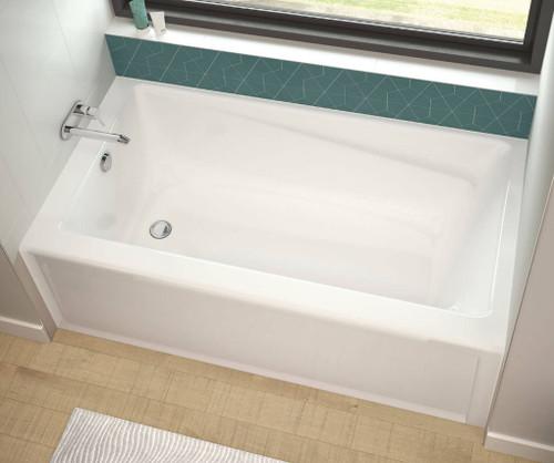 """Maax Exhibit 66"""" x 36"""" x 18"""" Rectangular Bathtub"""
