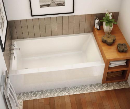 """Maax Rubix 60"""" x 32"""" x 19"""" Rectangular Bathtub"""