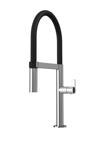 Rubi Nina Single Lever Professional Style Kitchen Faucet Chrome