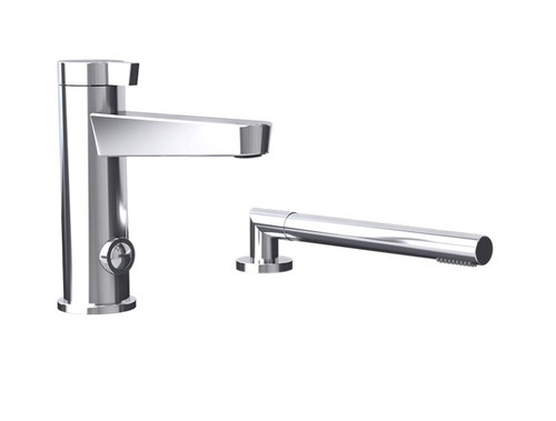 Rubi Abyss Two Piece Bathtub Faucet Chrome