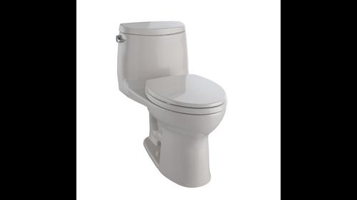 Toto UltraMax II Elongated Toilet 1.28 GPF with SanaGloss - ADA Sedona Beige