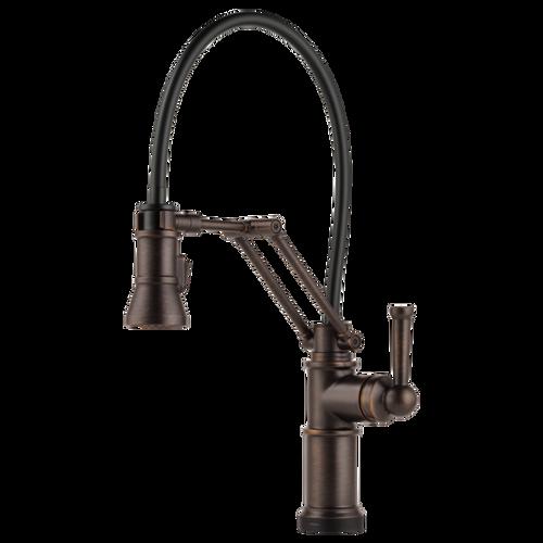 Brizo Artesso SmartTouch Articulating Kitchen Faucet Venetian Bronze Finish