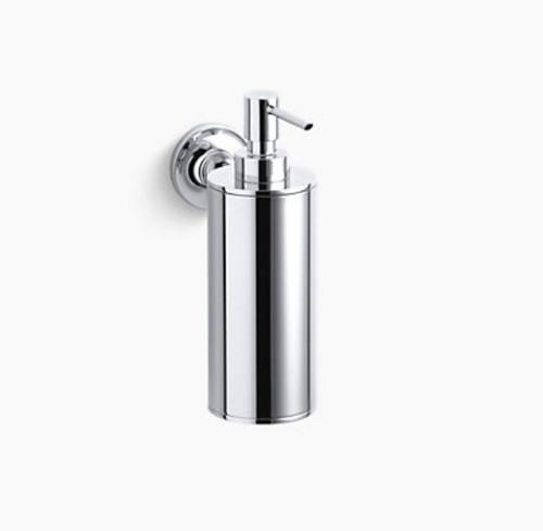 Kohler Purist Wall Mount Soap/Lotion Dispenser Polished Chrome