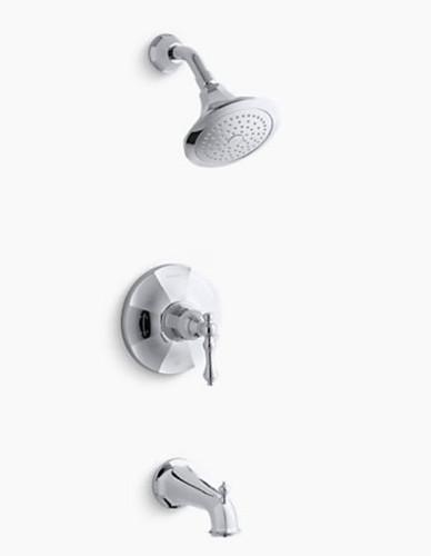 Kohler Kelston Rite-Temp® Bath and Shower Valve Trim Chrome