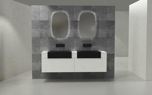 "Modern Victory 72"" Wall Mounted Bathroom Vanity"