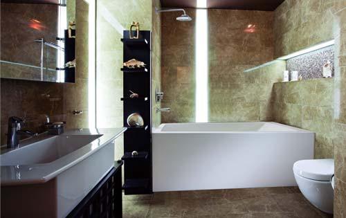 """Mirolin Adora Bath Tub Square Soaker Right Hand 60"""""""