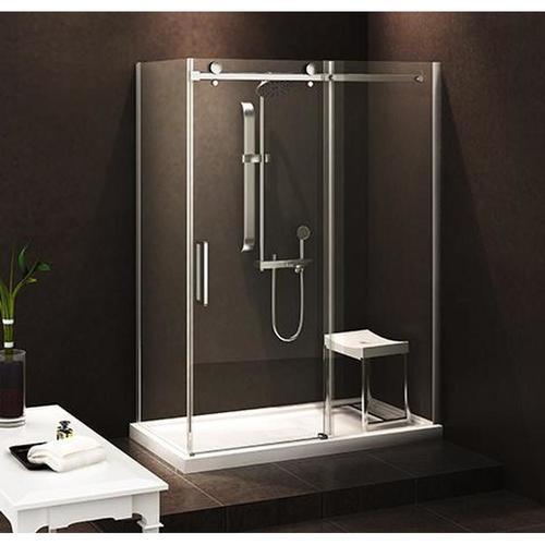"""Zitta Bellini Alcove Shower 1 Door  60"""" x 32"""", Base 60""""x 32"""""""