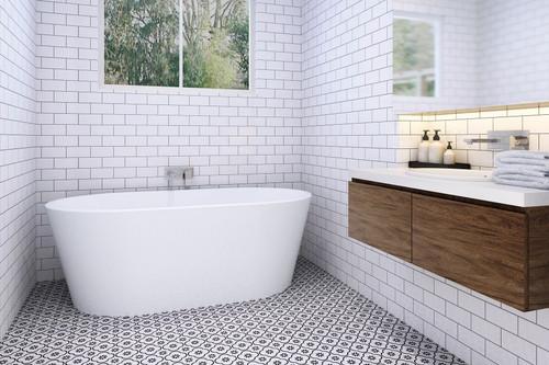 "Zitta Espa Freestanding Bathtub 66"""