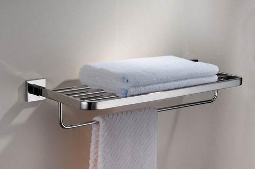 Sandy Bath Towel Bar Shelf