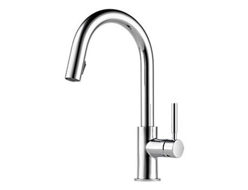 Brizo Solna single handle pull-down kitchen faucet