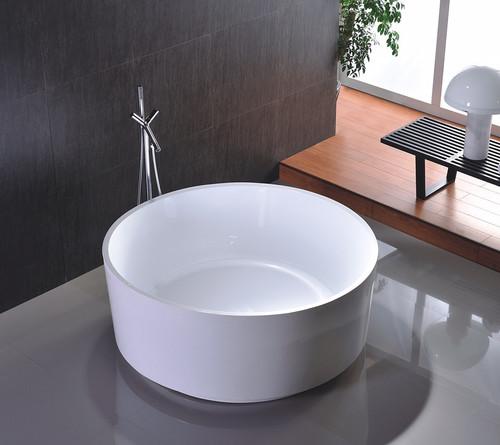 "Santorini 54"" Freestanding Circle Bath Tub"