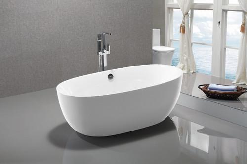 "Seabreeze 59"" Free Standing Bath Tub"