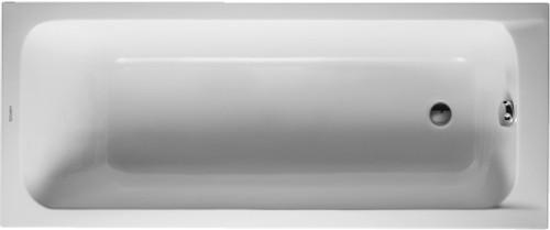 Duravit D Code Rectangular Bath Tub 700095 60 X 28 York Taps