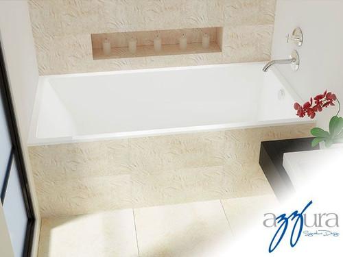 "Mirolin Envy Alcove Bath Tub 60""L x 30""W 22""D LH"