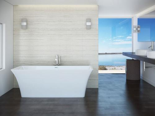 "Mirolin Skye Freestanding Bath Tub 67"" x 30"""