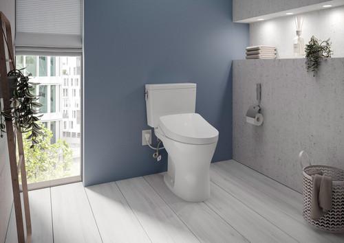 """Toto Drake® 1G WASHLET®+ S500e Two-Piece Toilet - 1.0 GPF & 0.8 GPF - 10"""" Rough-In"""