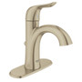 """Grohe Agira 4"""" Centerset Bathroom Faucet XL-Size Lavatory Centreset With Escutcheon Brushed Nickel Finish"""