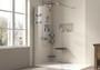 Zitta Wall Shower Seat Polyurethane