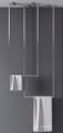 Zitta Ceiling Towel Bars Duo