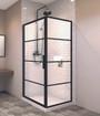 """Zitta Signature Materia 36"""" x 36"""" Shower Door"""