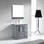 "Hamilton 30"" Single Modern Bathroom Vanity Ice Grey"