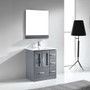 "Hamilton 30"" Bathroom Vanity Ice Grey"