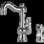 Brizo Tresa Single Handle Kitchen Faucet with Spray Polished Chrome Finish