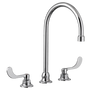 """American Standard Monterrey Widespread Bathroom Faucet with 8"""" Gooseneck Spout and Flexible Underbody 1.5 gpm"""