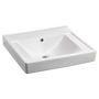 American Standard Decorum Wall-Hung Bathroom Sink with Everclean (No Faucet Holes with Overflow)