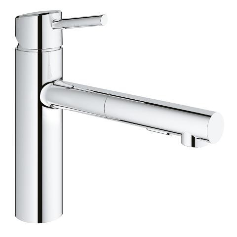 Grohe Concetto Single Handle Kitchen Faucet Chrome Finish York Taps