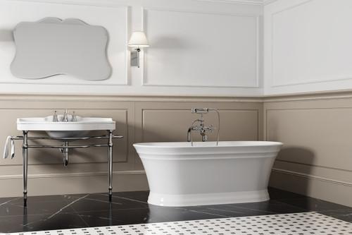 zitta antika freestanding bathtub 67″ x 31″ x 23 5/8″   york taps