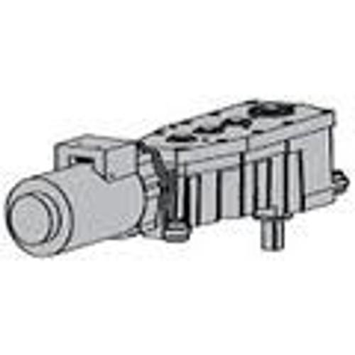 Silver LCN Motor Gear Box,Slvr,16-1//2 in L,LH 9550-3454 LH