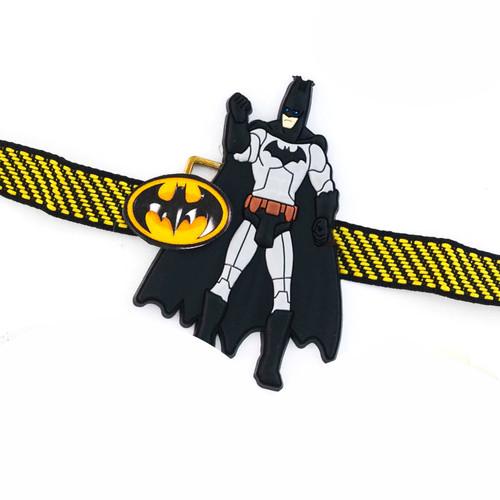 Stylish Batman Yellow Band Kids Rakhi