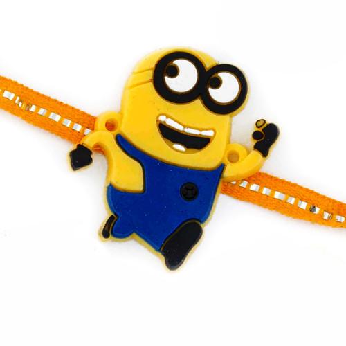 Charming Yellow Minion Kids Rakhi