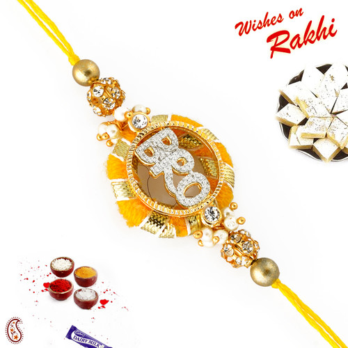 Aapno Rajasthan American Diamond BRO Rakhi