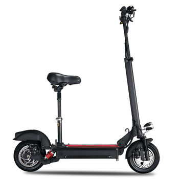 X3 50 Miles 48V21Ah Electric Scooter - Black
